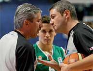 The difficult job of a referees' observer