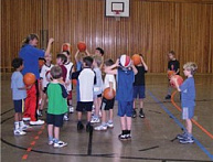 Mini-Basketball Program In Berlin