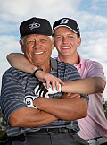 Lee Trevino and Son