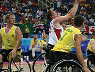 Wheelchair Basketball: Transition From Defense To Offense